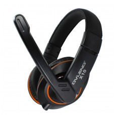 Headsets Ovleng X-10 for computer with microphone, Black - 20221