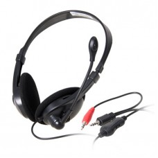 Headsets Ovleng OV-L9008MV for computer with microphone, Black - 20240