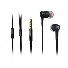 Mobile headphones, Remax RM-535, With microphone, Black, Silver - 20313
