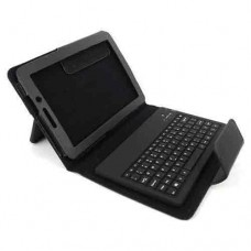 Cover with Keyboard for iPad-mini 1/2 M-BTO1Bluetooth without cyrillization, No brand, black - 14694
