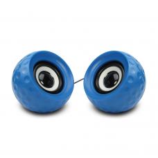 Speakers Kisonli V420, 3W*2, USB, Blue - 22041