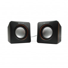 Speakers Kisonli V400, 3W*2, USB, Black - 22043