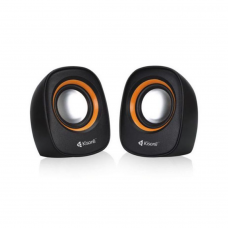 Speakers Kisonli V360, 1.5W*2, USB, Multicolor - 22046