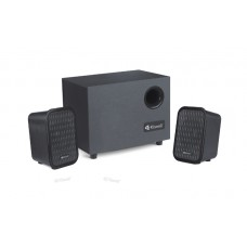 Speakers Kisonli TM-3000, 5W+3W*2, USB, Black - 22054