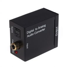 Digital audio analog converter DT, Black - 18225
