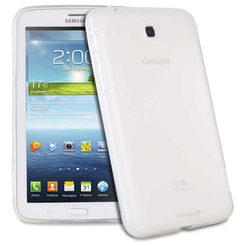 Silicone protector No brand  for Samsung T310 Tab3 8  , White - 14565 - 14565