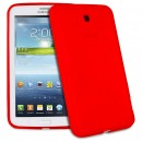 Silicone protector No brand  for Samsung T310 Tab3 8  , Red - 14569 - 14569