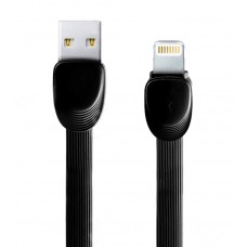 Data cable iPhone Lighting, 1m, Remax Shell RC-040i, Black - 14338