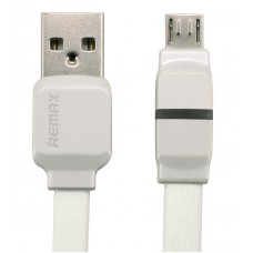 Data cable micro USB, Remax Breathe RC-029m,1m, White, Blue - 14347