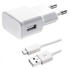 Network charger No brand Travel 5V/2A 220A, Universal, 1 x USB, With cable Micro USB - 14720