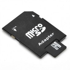 Memory card No brand microSDHC 32GB, Class 10 + Adapter - 62024