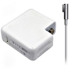 Adapter DeTech for Apple 85W 18.5V/4.65A magnetic 5 pin 2 pin, White - 279
