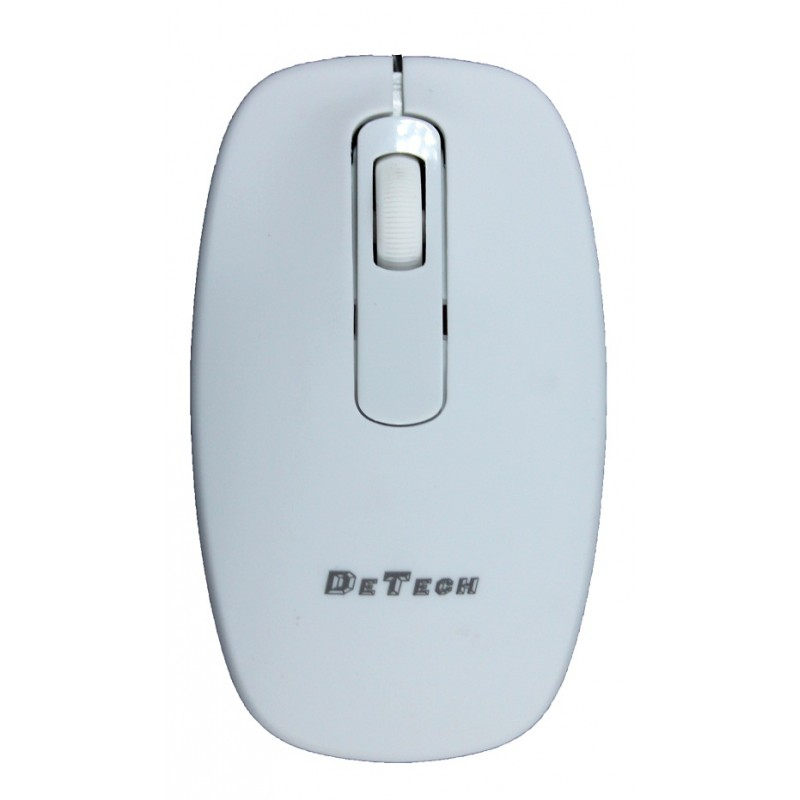 Mouse DeTech, Optical 4D Wired, White - 903 - 903