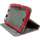 Case No brand for Samsung P3100 Tab 2 7  , Red - 14532 - 14532
