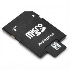 Memory card No brand microSDHC 4GB, Class 4 + Адаптер - 62021