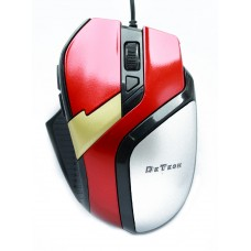 Mouse DeTech, Optical 6D Wired, Black/Red - 902