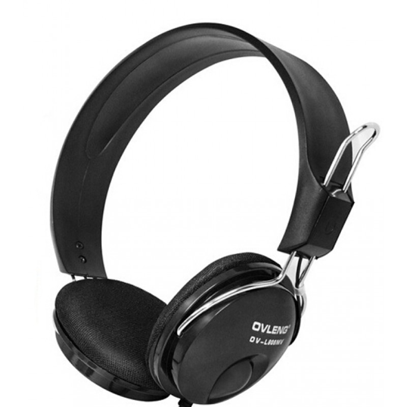 Headsets Ovleng OV-L808MV for computer with microphone, Black - 20214 - 20214