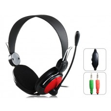 Headsets Ovleng V 2 for computer with microphone, Black - 20218