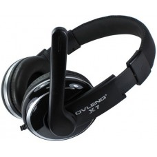 Headsets Ovleng X-7 for computer with microphone, Black - 20222