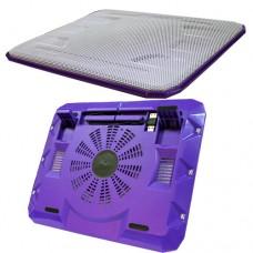 Охладител за лаптоп No brand, 15.6'' ,USB, Лилав - 15031