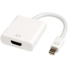 Adapter DeTech Mini DP M - HDMI F, 10sm, White - 18154