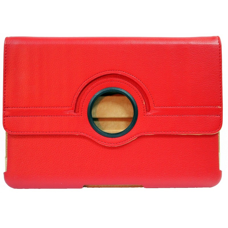 Case No brand  for Samsung P5100 Tab2 10.1  , Red - 14580 - 14580
