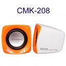 Speakers Camac CMK-208, 1.5W*2, USB, Multicolor - 22002 - 22002