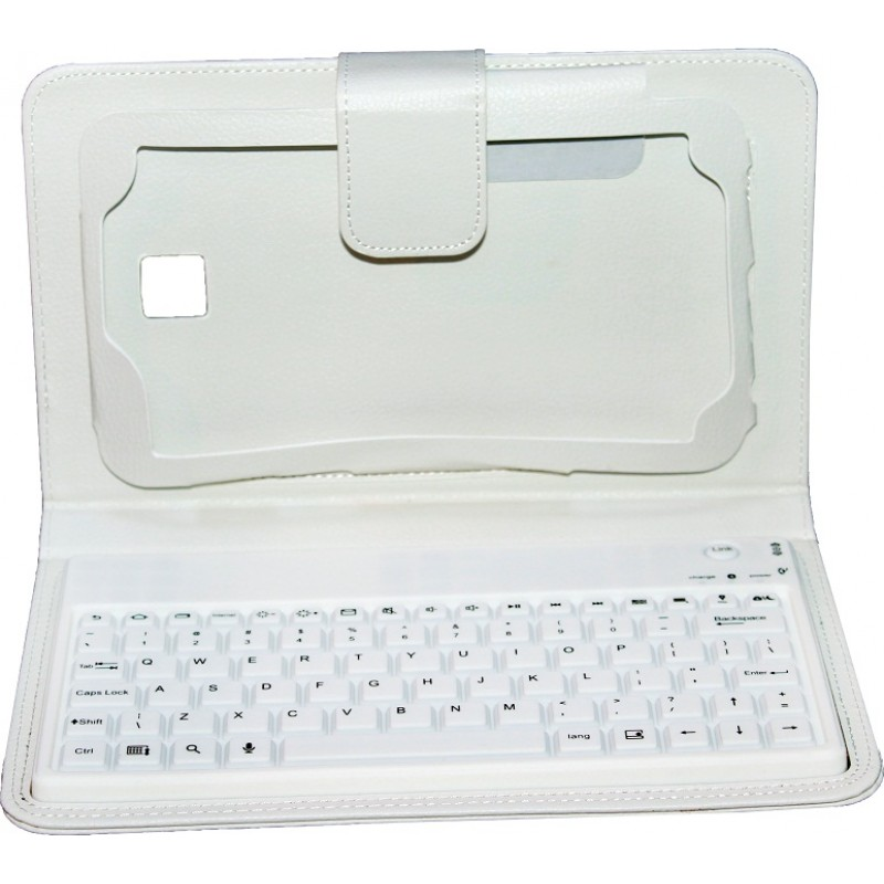 "Keyboard cover for Samsung Tab3 7 ""S-BT3201 without Cyrillic alphabet No brand, white - 14697 - 14697"