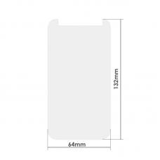 """Универсален стъклен протектор, No brand, За 4.7"""", 0.26mm, Прозрачен - 52264"""