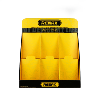 Monitor desktop stand, Remax, 480x400x220, yellow with black - 14433