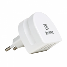 Network charger, Remax Moon RP-U31, 5V/3.1A, Universal, 3 x USB, White - 14410
